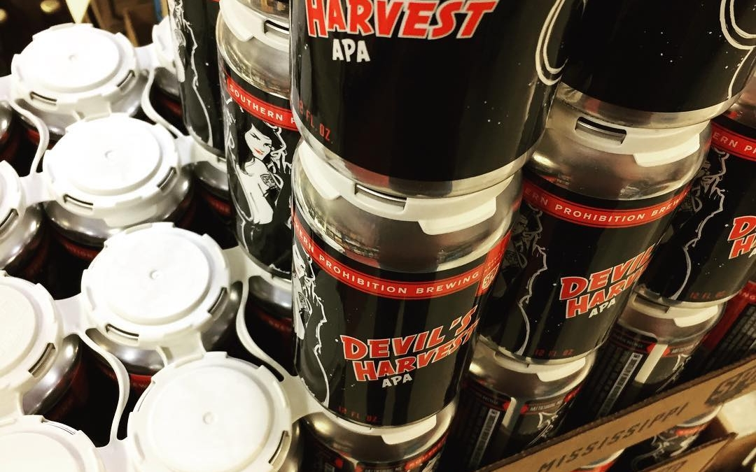Fresh @soprobrewco Devils Harvest canned 11/14 is now in stock at our Perkins Rd location!…