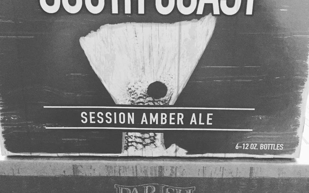 The new and improved recipe of @parishbrewingco South Coast Session Amber Ale is now available…