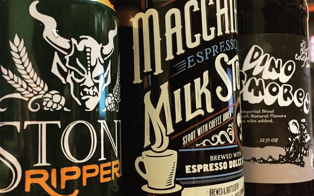 New brews today at our Perkins Rd location! @offcolorbrewing @stonebrewingco @abitabeer #drinklocal #fresh #rawr have