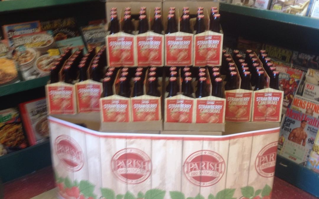 It's here at Calandro's Midcity , Parishbrewing Strawberry Canebrake ready for Super Bowl Sunday and…