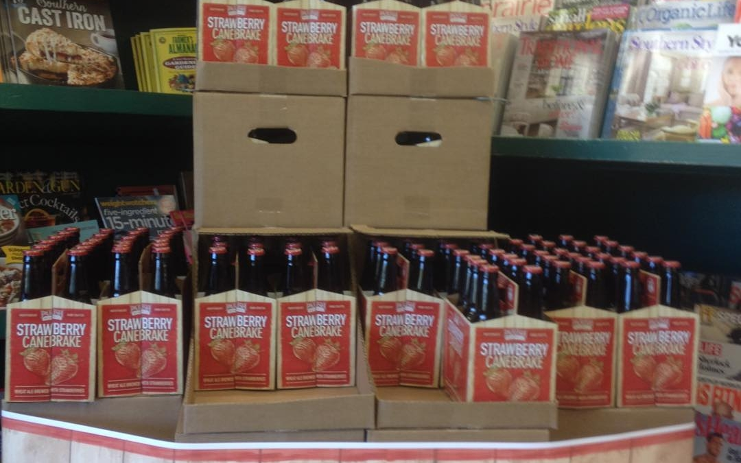 It's here,Parish Brewing Strawberry Canebrake at Calandro's Midcity come and get yours before it runs…