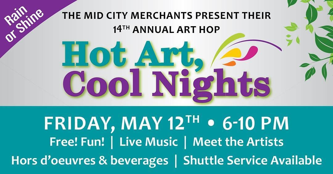 We're IN and we're committed to making #HotArtCoolNights the biggest it's ever been! Mark your…