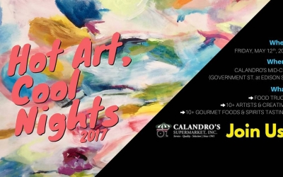 The 14th Annual Hot Art, Cool Nights is less than two weeks away – Friday,…