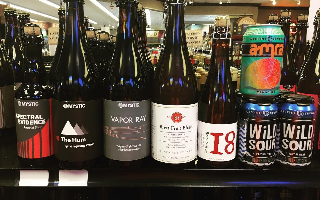 New brews in stock today at our Perkins Rd location! @twelve_percent_imports @sheltonbrothers @mysticbrewery @destihlbrewery @blackberryfarmbrewery…