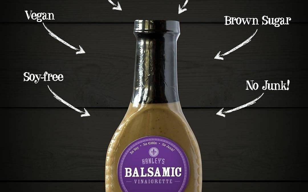 Gotta try this stuff, y'all. #balsamicheaven #brlocal #grocery #gourmet #dressitbetter #trustthemustache #Repost @hanleysfoods ・・・ Our…