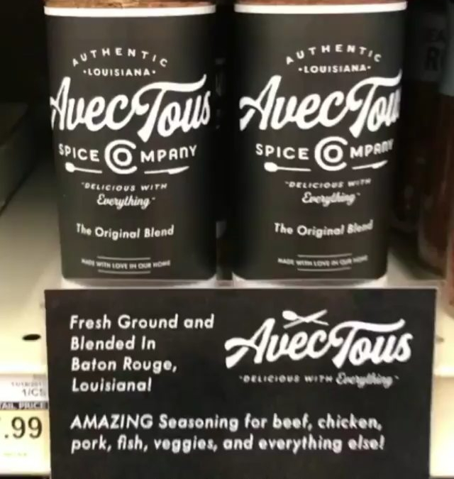 Repost from @avectousspice: The shelf @calandrosmkt on Siegen and Perkins is restocked! Go get you…