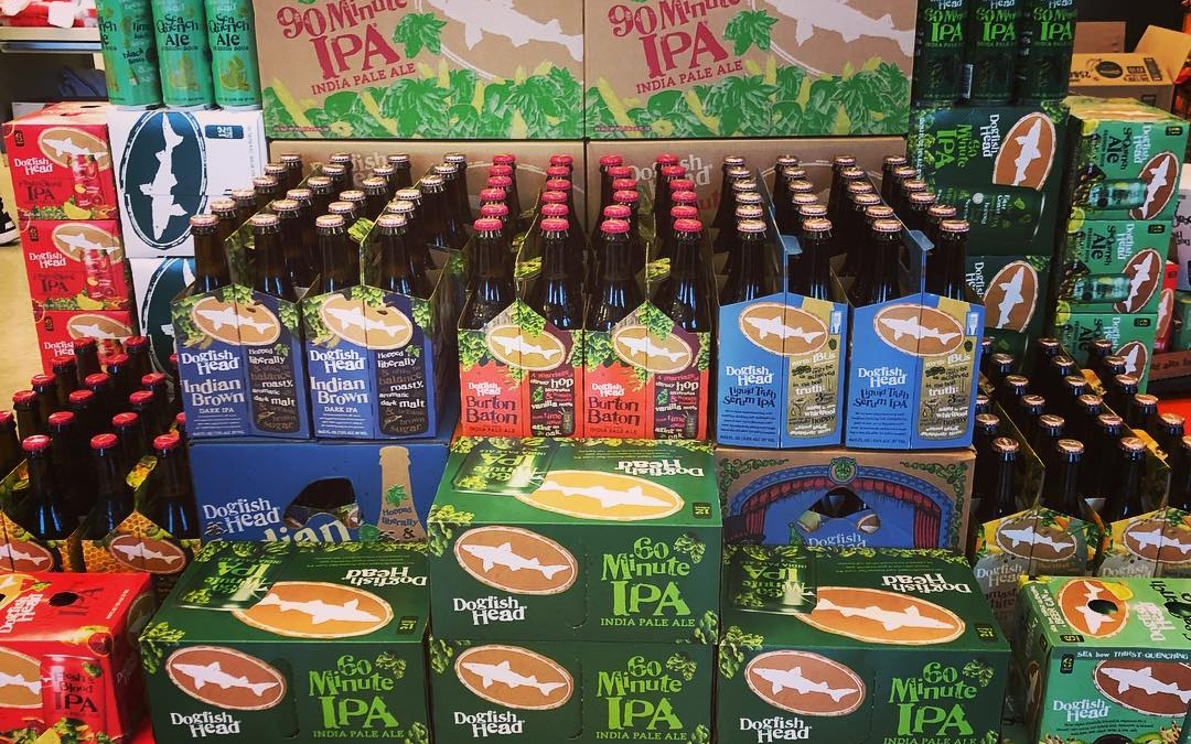 @dogfishhead Brewery is now available at our Perkins Rd location! Welcome to BR! #beer #freshhops…