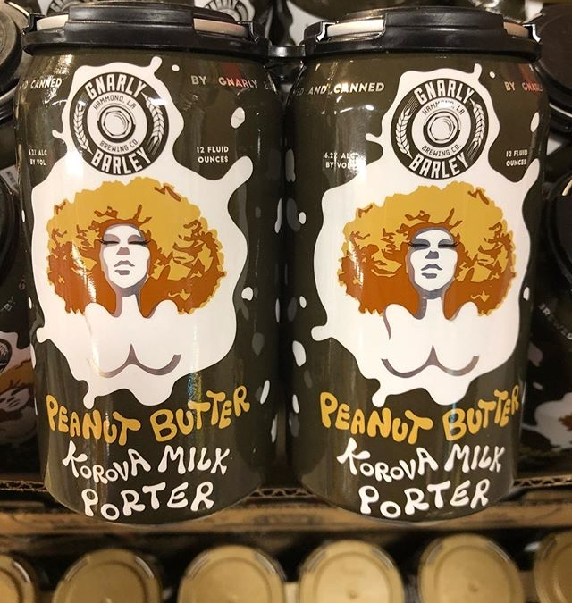 @gnarlybarley Peanut Butter Korova is now in stock at our Perkins Rd location! #beer #peanutbutter…