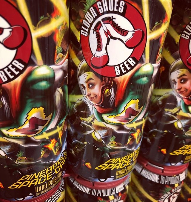 @clownshoesbeer ???? Space Cake is now available at our Perkins Rd location! #beer #merica???????? #summerbrew…