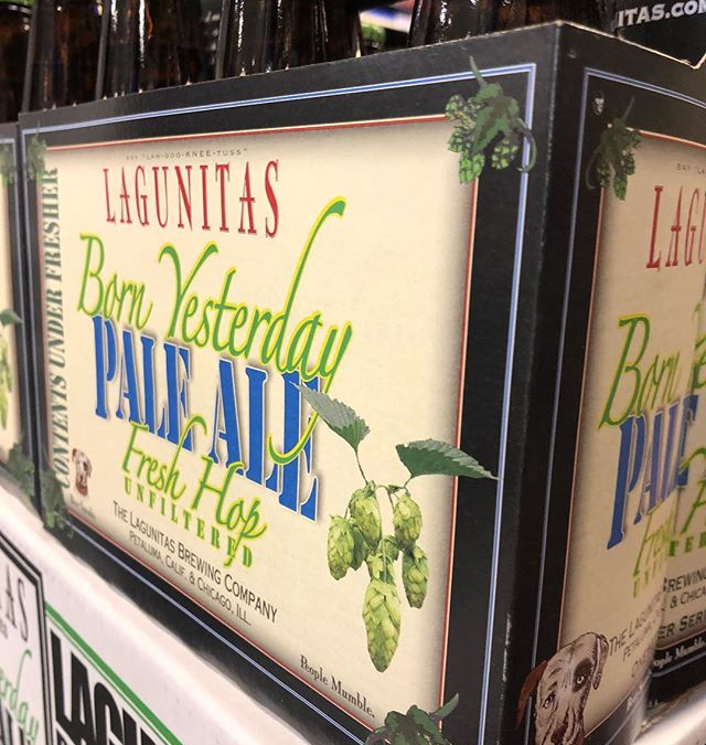 @lagunitasbeer Born Yesterday IPA is now in stock at our Perkins Rd location!! #beer #freshhops…