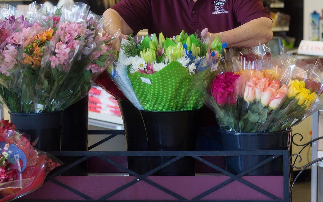 Meet Terri. She makes things pretty at our Calandro's Perkins Rd location in our floral…