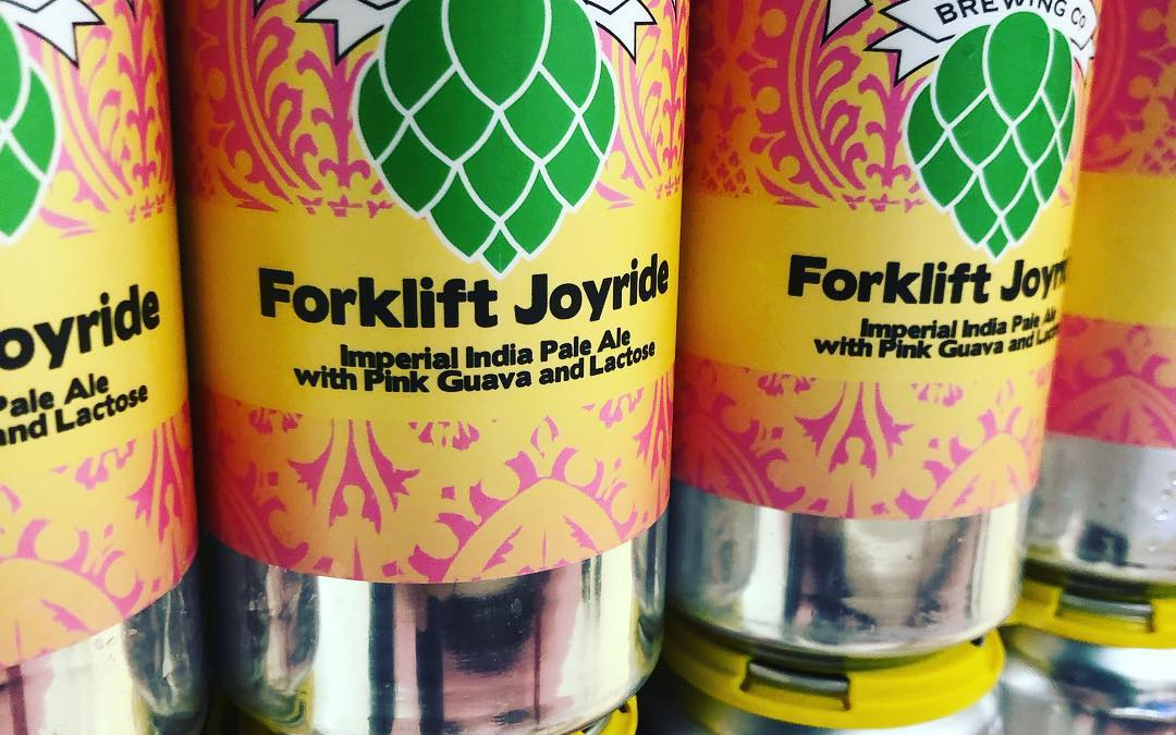 @nolabrewing Forklift Joyride, Double IPA with Pink Guava and Lactose, is now available at our…