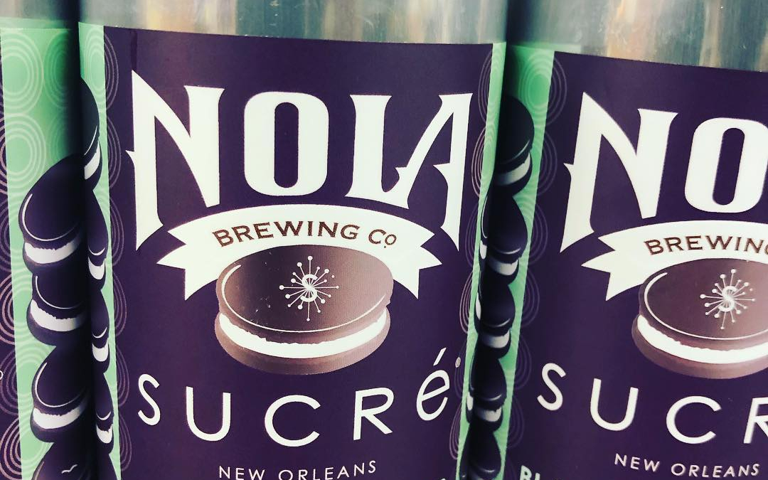@nolabrewing and @sucreneworleans blackberry cobbler macaron stout is now available at our #midcitybr location! Limit…