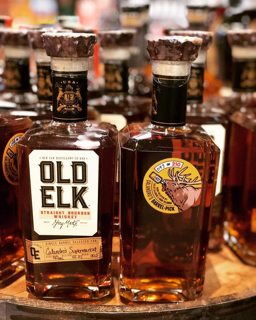 THIS JUST IN! The first barrel pick of @oldelkbourbon in the state of Louisiana at…