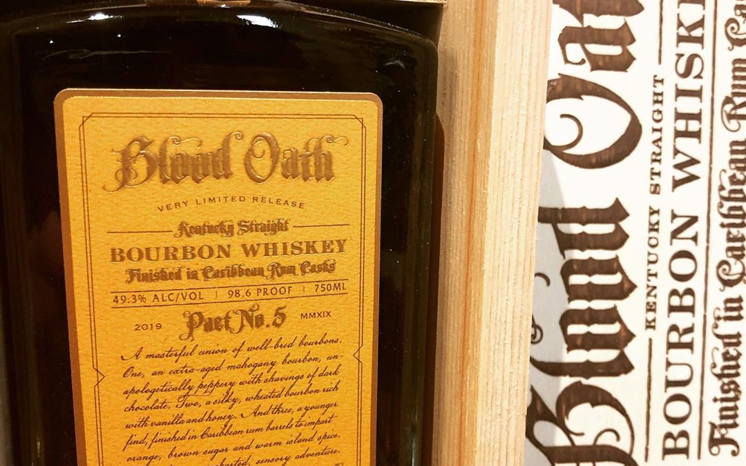 @bloodoathbourbon Pact No. 5 is now available at our Perkins Rd location! This is a…