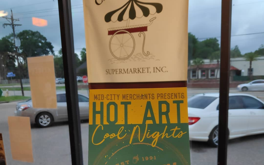 Hot Art, Cool Nights 2019 is still on @ Calandro's Mid-City, ☔ or ☀️! We're…