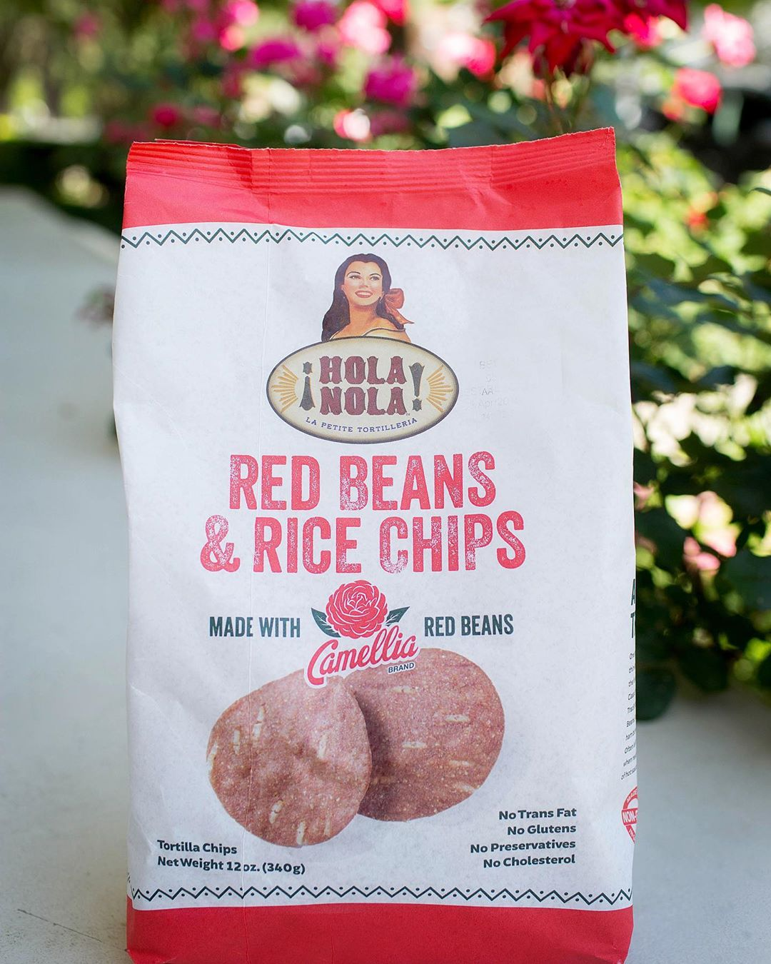 Now you can have #redbeansandrice any time you're craving them with these chips from @holanolafoods…