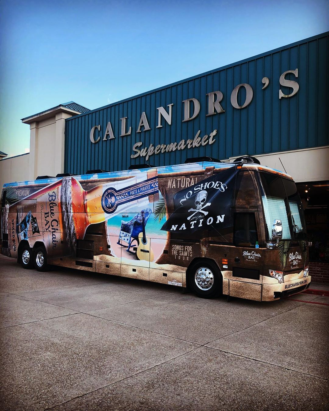 The bus is here and will be here until 7 PM… come enter for a…