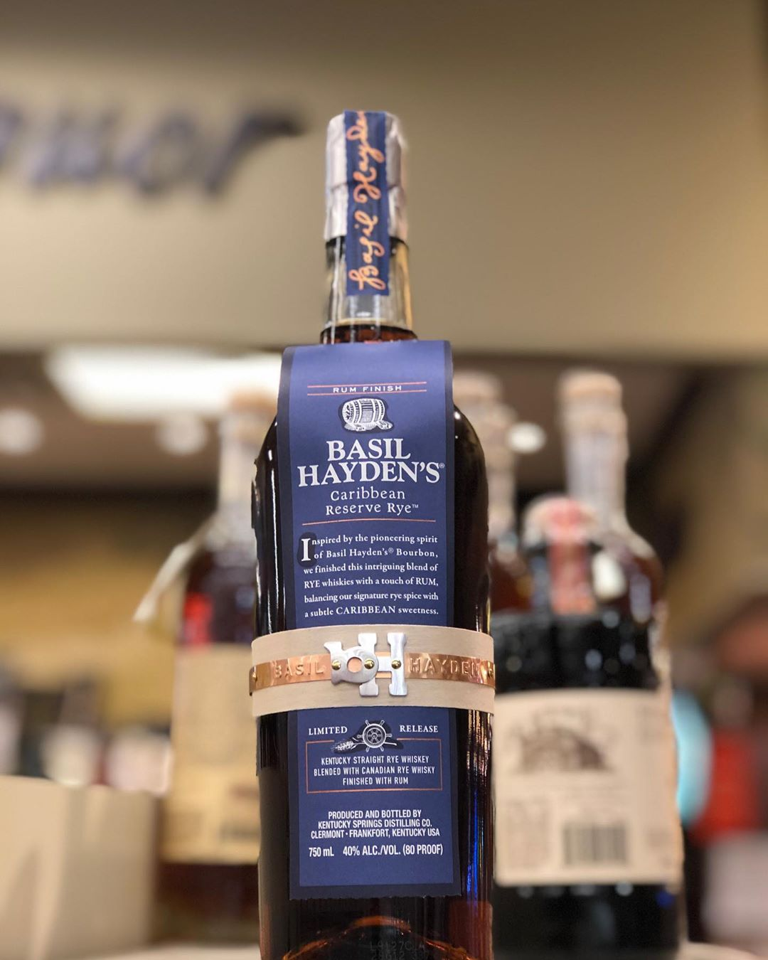 Rum Finished @basilhaydens is now in stock at our Perkins Rd location! #whiskey #liquor #rum…