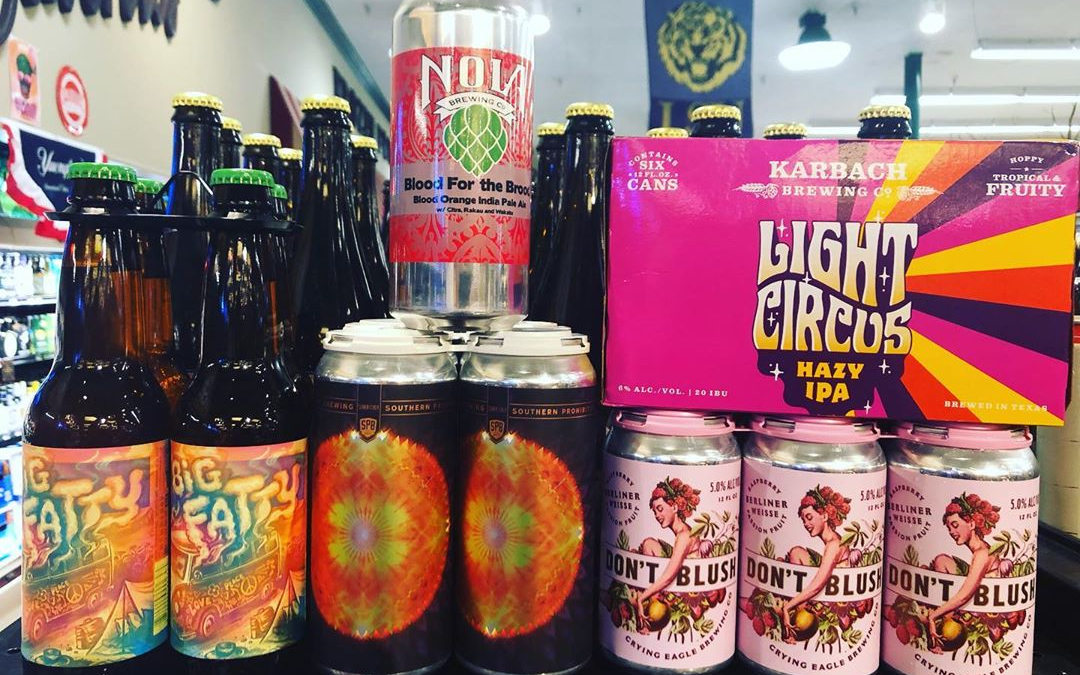 It's #newbrewthursday now at our Perkins Rd location! @soprobrewco @cryingeaglebrew @nolabrewing @karbachbrewing @bayoutechebrewing #beer #drinklocal…