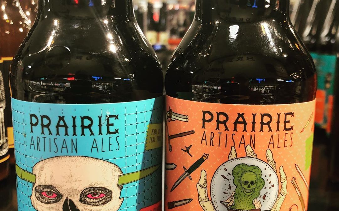 New brews now available at our Perkins Rd location courtesy of @prairieales … #beer #barrelagedbeer…