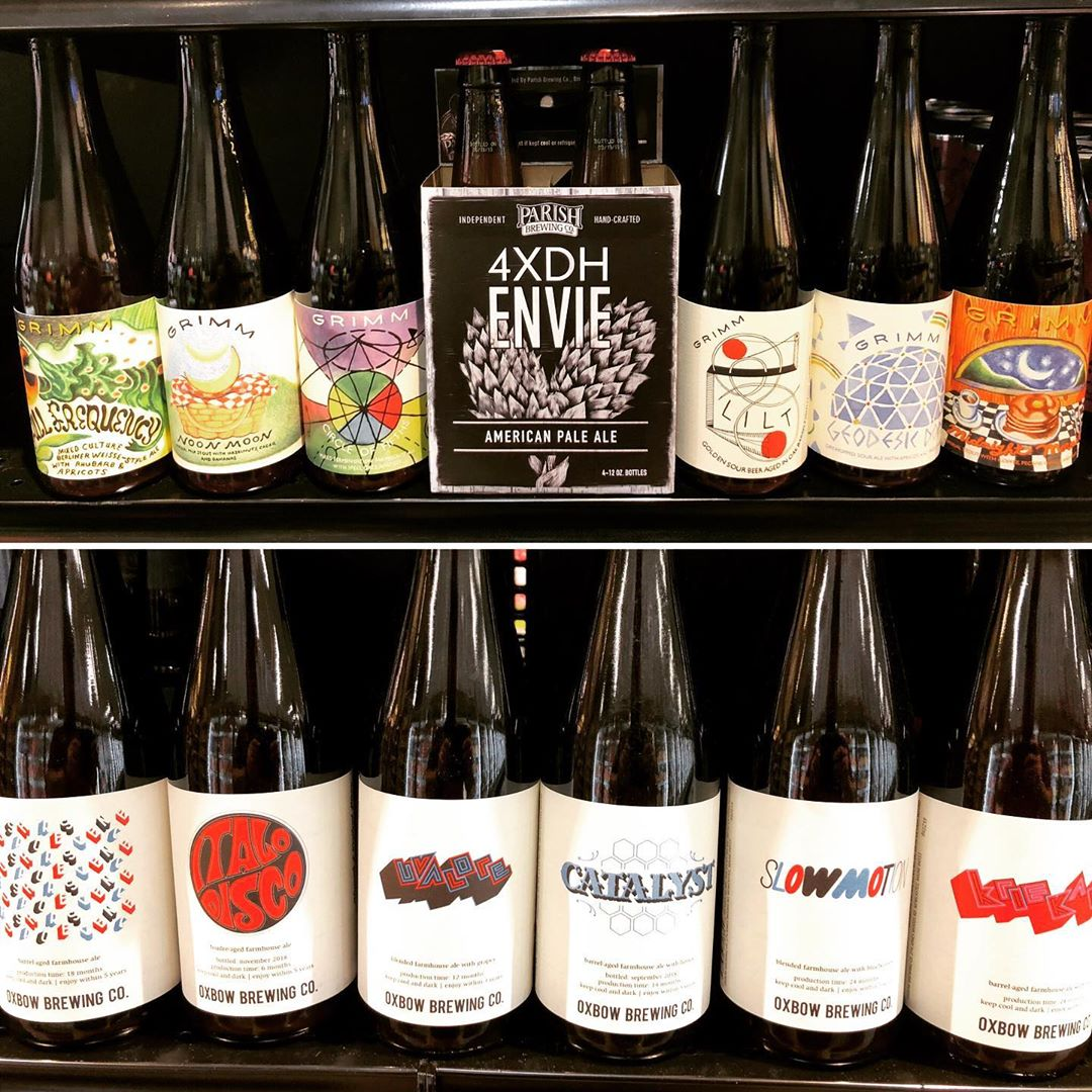 New brews now in stock at our Perkins Rd location including @parishbrewingco 4x Dry-Hopped Envie…