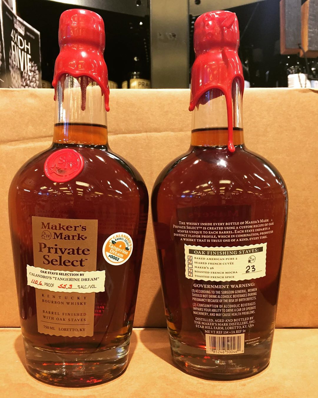 Our 2nd private select barrel from @makersmark is now available at our Perkins Rd location!…