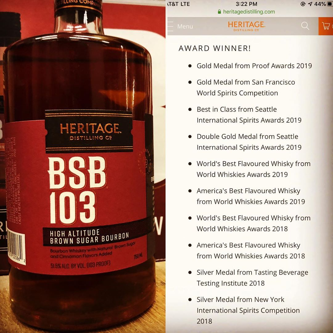 We've been getting asked for this a lot lately and it's finally here! @heritagedistilling Brown…