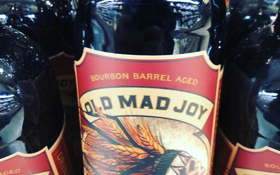 @greatraftbeer Old Mad Joy with cinnamon, chocolate, vanilla and coffee is now available at our…