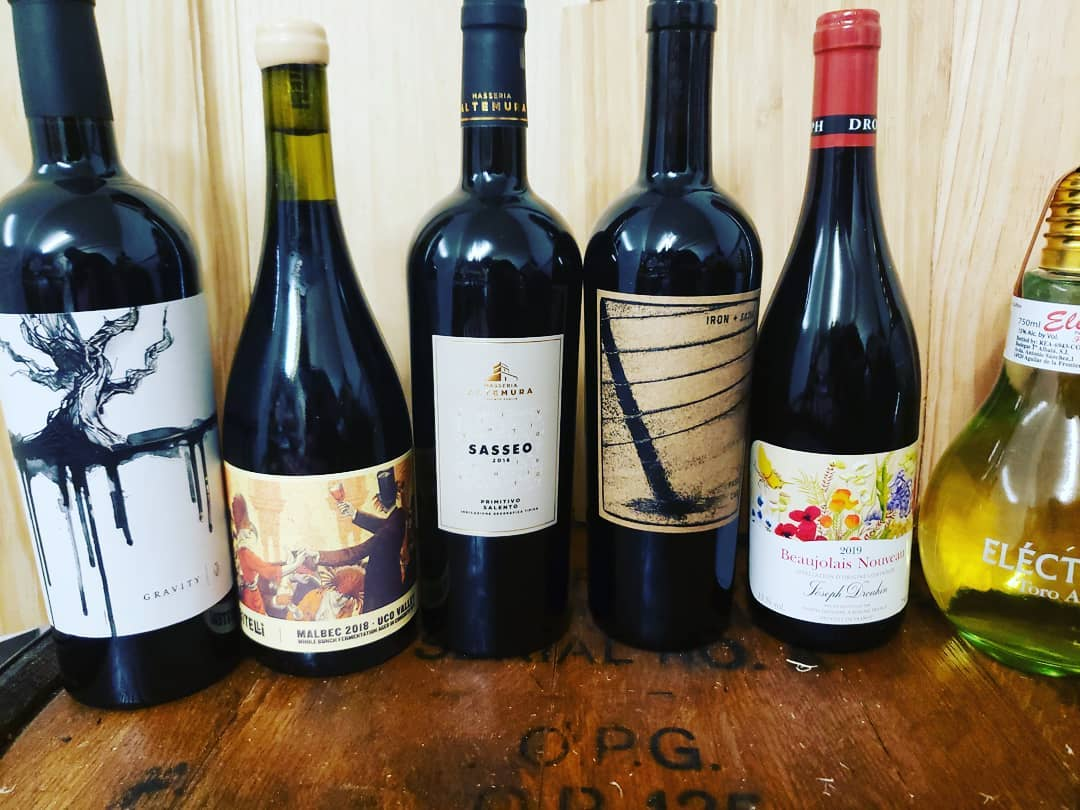 New arrivals this week (as well as a tiny amount of Cabernet from #hundredacre). All…
