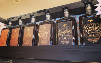 @orphanbarrel Rhetoric Library set with 20-25 year is now available at our Perkins Rd location!…