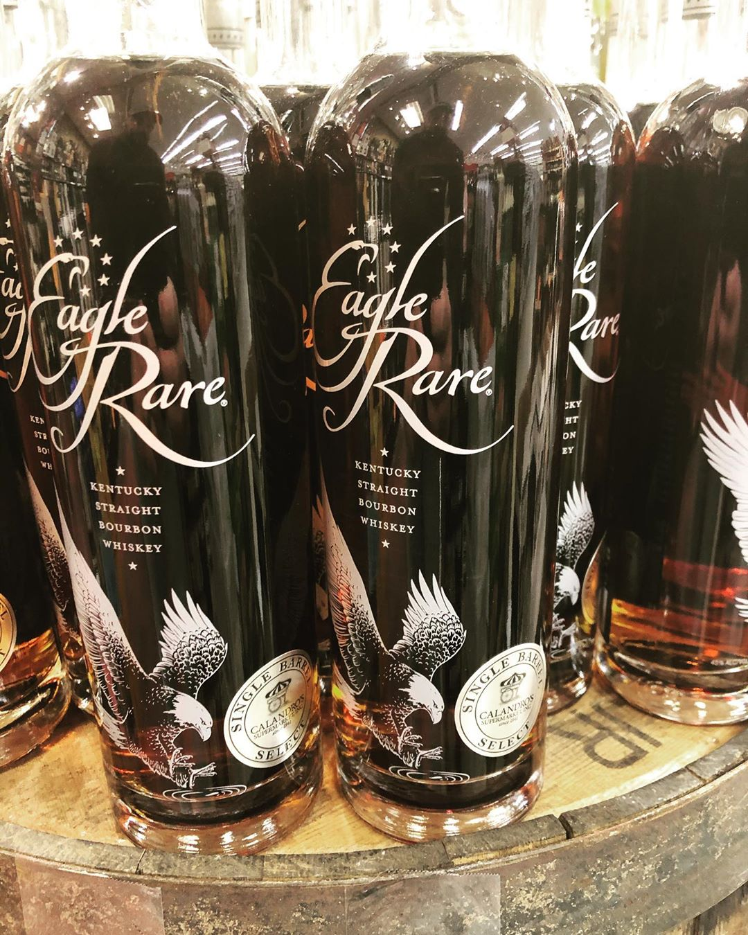 We hinted earlier this week at an @eaglerarebourbon barrel later this week and here it…