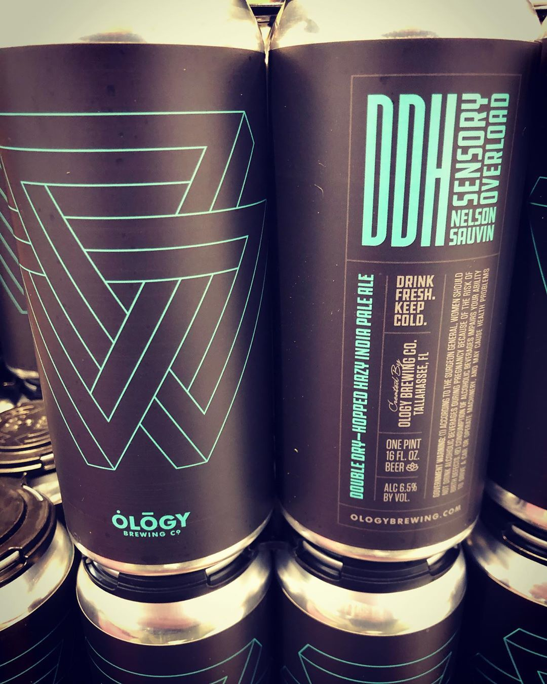 New brewery alert! @ology_brewing_co DDH Sensory Overload is now available at our Perkins Rd location!…