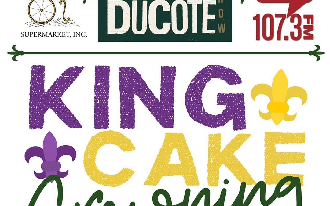 T-minus 2 days…Calandro's 2020 King Cake Crowning on Thursday, Feb. 20th from 4p-6p at Calandro's…