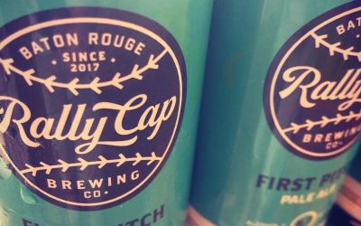 @rallycapbrewing First Pitch Pale Ale is now available at our Perkins Rd location! #beer #drinklocal…