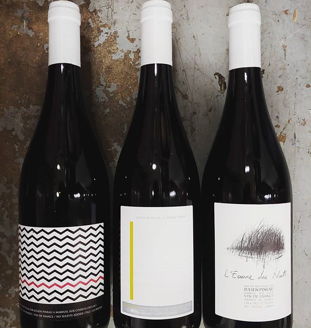 These Loire Valley beauties from the deft hand of Julien Pineau are available at our…